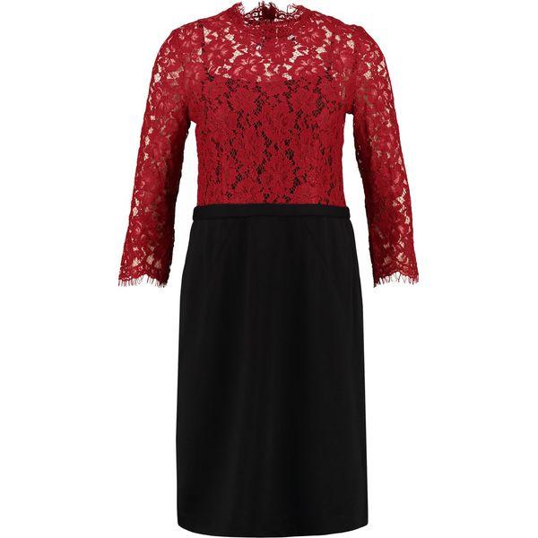 b443b2304c04 Culture TINKA Sukienka letnia black red - Czerwone sukienki damskie ...