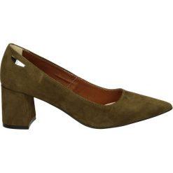 Czółenka - 2506 CAM VER9. Brązowe buty ślubne damskie Venezia, ze skóry. Za 199,00 zł.