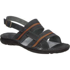 Sandały skórzane Windssor 023. Czarne sandały męskie Windssor. Za 79,99 zł.