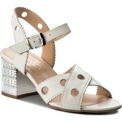 Rzymianki damskie: Sandały ANN MEX – 8763 03S Beż