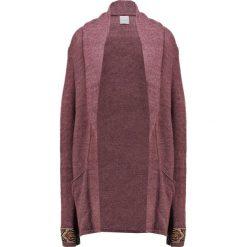 Swetry damskie: Culture TONNI Kardigan rose brown melange