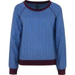 """Bluzki asymetryczne: Koszulka """"Vika"""" w kolorze niebiesko-ciemnofioletowym"""