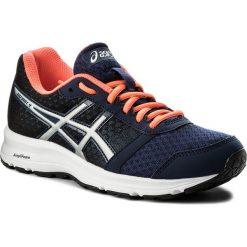 Buty ASICS - Patriot 9 T873N Indigo Blue/Silver/Flash Coral 4993. Niebieskie buty do biegania damskie Asics, z gumy. W wyprzedaży za 189,00 zł.