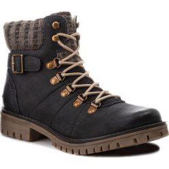 Trapery LASOCKI - WI07-A721-A588-03 Navy. Niebieskie buty zimowe damskie Lasocki, z materiału. Za 199,99 zł.