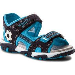 Sandały SUPERFIT - 2-00174-81 D Ocean Kombi. Różowe sandały męskie skórzane marki Superfit. W wyprzedaży za 219,00 zł.