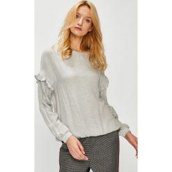 Medicine - Bluzka Hand Made. Szare bluzki z odkrytymi ramionami MEDICINE, l, z tkaniny, casualowe, z okrągłym kołnierzem. Za 99,90 zł.