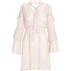 Sukienki: Jasnobeżowa Sukienka Coherence