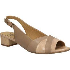 SANDAŁY CAPRICE 9-28117-24. Brązowe sandały damskie Caprice. Za 169,99 zł.