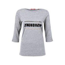 S.Oliver T-Shirt Damski 34 Szary. Szare t-shirty damskie marki S.Oliver, s. W wyprzedaży za 56,00 zł.