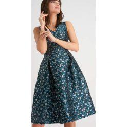 Sukienki: Żakardowa sukienka koktajlowa