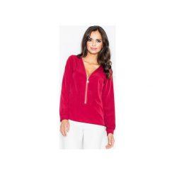 Bluzka M422 Bordo. Czerwone bluzki damskie marki FIGL, m, z długim rękawem. Za 119,00 zł.