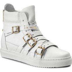 Sneakersy EVA MINGE - Dolores 2E 17BD1372194EF 102. Białe sneakersy damskie Eva Minge, z materiału. W wyprzedaży za 299,00 zł.