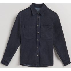 Koszula z bawełny organicznej - Niebieski. Niebieskie koszule damskie Reserved, z bawełny. Za 159,99 zł.