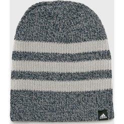 Adidas Performance - Czapka. Szare czapki zimowe męskie marki adidas Performance, z dzianiny. Za 59,90 zł.