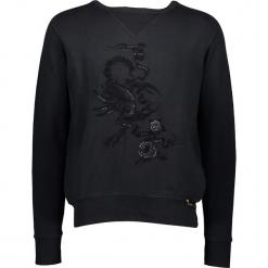 Bluza w kolorze czarnym. Niebieskie bluzy męskie marki GALVANNI, l, z okrągłym kołnierzem. W wyprzedaży za 260,95 zł.
