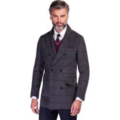 Płaszcz JEREMIAH PSPS000037. Brązowe płaszcze na zamek męskie marki Cropp, na zimę, l, sportowe. Za 1299,00 zł.