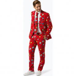 OppoSuits - Garnitur męski z krawatem – Dapper Decorator, czerwony. Czerwone garnitury OppoSuits. Za 379,95 zł.
