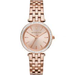 Zegarek MICHAEL KORS - Mini Darci MK3366 Rose Gold/Rose Gold. Czerwone zegarki damskie Michael Kors. Za 1290,00 zł.