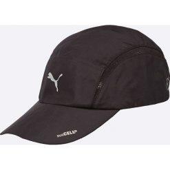 Puma - Czapka. Czarne czapki z daszkiem męskie marki Puma, z materiału. W wyprzedaży za 79,90 zł.