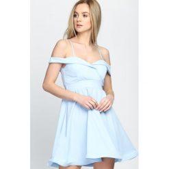 Sukienki: Jasnoniebieska Sukienka Party Favors