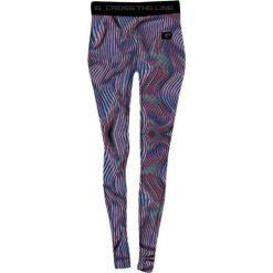 IQ Spodnie damskie Dahia Wmns Blue Optic Print/ Black r. M. Szare spodnie sportowe damskie marki IQ, l. Za 87,78 zł.