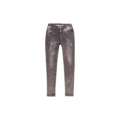 Getry dziewczęce ocieplane długie. Niebieskie legginsy dziewczęce marki KIPSTA, z elastanu. Za 19,99 zł.