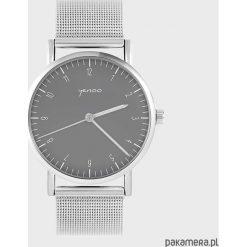 Zegarek - Simple elegance, szary - metalowy. Szare zegarki męskie Pakamera, metalowe. Za 139,00 zł.