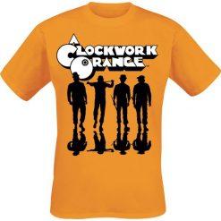 T-shirty męskie z nadrukiem: Clockwork Orange Shadows T-Shirt pomarańczowy
