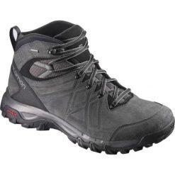 Buty trekkingowe męskie: Salomon Buty męskie Evasion 2 Mid LTR GTX Magnet/Phantom r. 44 2/3 (398714)
