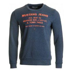 Bejsbolówki męskie: Mustang Bluza Męska L Niebieski