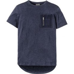Długi t-shirt Regular Fit bonprix ciemnoniebieski. Niebieskie t-shirty męskie bonprix, m. Za 69,99 zł.