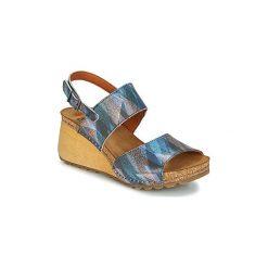Sandały Art  BORNE 1322F. Niebieskie sandały trekkingowe damskie Art, z kauczuku. Za 415,20 zł.