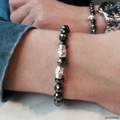 Biżuteria i zegarki: Bransoletka męska Silver Swag
