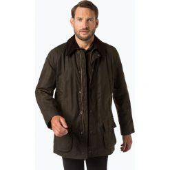 Barbour - Kurtka męska – Bristol, zielony. Zielone kurtki męskie Barbour, l, ze sztruksu, klasyczne. Za 999,95 zł.