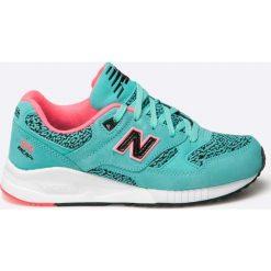 New Balance - Buty W530KIB. Szare buty sportowe damskie New Balance, z materiału. W wyprzedaży za 299,90 zł.