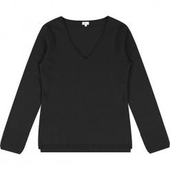 Sweter kaszmirowy w kolorze czarnym. Czarne swetry klasyczne damskie marki Ateliers de la Maille, z kaszmiru. W wyprzedaży za 363,95 zł.