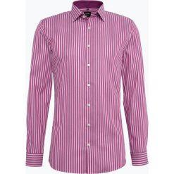 OLYMP No. Six - Koszula męska, różowy. Niebieskie koszule męskie slim marki OLYMP No. Six, m, w kolorowe wzory. Za 149,95 zł.