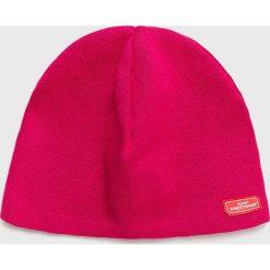 Viking - Czapka. Różowe czapki zimowe damskie marki Viking, na zimę, z dzianiny. Za 79,90 zł.
