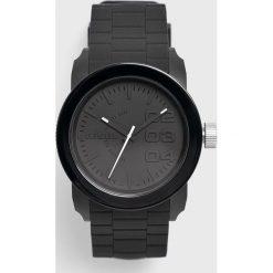 Diesel watch - Zegarek DZ1437. Czarne zegarki męskie marki Fossil, szklane. Za 459,90 zł.