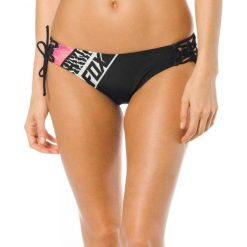 Bikini: FOX Dół Od Bikini Refraction Lace Up Side Tie Xs Czarny