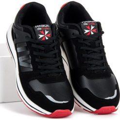 Wiązane buty sportowe MAITANE. Czarne buty skate męskie AX BOXING. Za 109,00 zł.