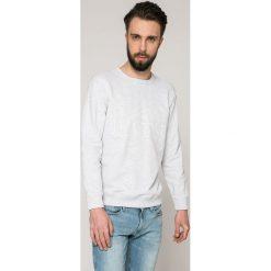 Lee - Bluza. Szare bluzy męskie rozpinane Lee, l, z nadrukiem, z bawełny, bez kaptura. W wyprzedaży za 129,90 zł.