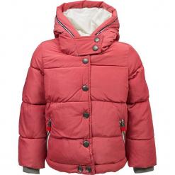 Kurtka przejściowa w kolorze różowym. Białe kurtki dziewczęce przejściowe marki Marc O'Polo Junior, z nadrukiem, z okrągłym kołnierzem, z długim rękawem. W wyprzedaży za 165,95 zł.