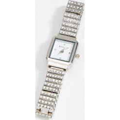 Zegarek na bransolecie z kwadratową tarczą - Srebrny. Szare zegarki damskie Mohito, srebrne. Za 69,99 zł.