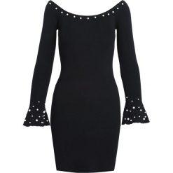 Czarna Sukienka Ball Gowns. Czarne sukienki dzianinowe Born2be, na jesień, l. Za 74,99 zł.