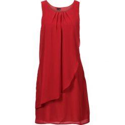 Sukienki hiszpanki: Sukienka bonprix ciemnoczerwony
