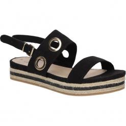 Sandały na platformie z ozdobami S.Oliver 5-28201-28. Czarne sandały damskie S.Oliver, na platformie. Za 138,99 zł.