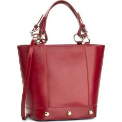 Torebka CREOLE - K10189 Bordowy. Czarne torebki klasyczne damskie marki Creole, ze skóry. W wyprzedaży za 309,00 zł.
