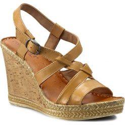 Rzymianki damskie: Sandały FREE SOFT – Dalila 3344 Cuoio