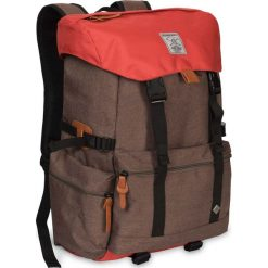 Plecaki damskie: Woox Miejski Plecak z Przegrodą na Laptopa   Brązowy Cinera Bag -           -